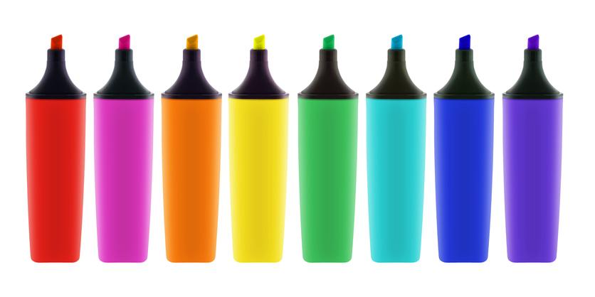 ¿Qué transmite cada color en el logo de una empresa?